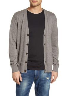 John Varvatos Star USA Madison Cotton & Yak Hair Cardigan