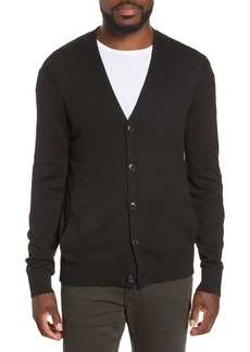 John Varvatos Star USA Madison Cotton & Yak Hair Cardigan