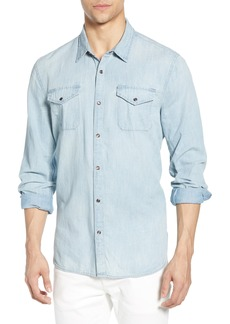 John Varvatos Star USA Marshall Slim Fit Denim Shirt
