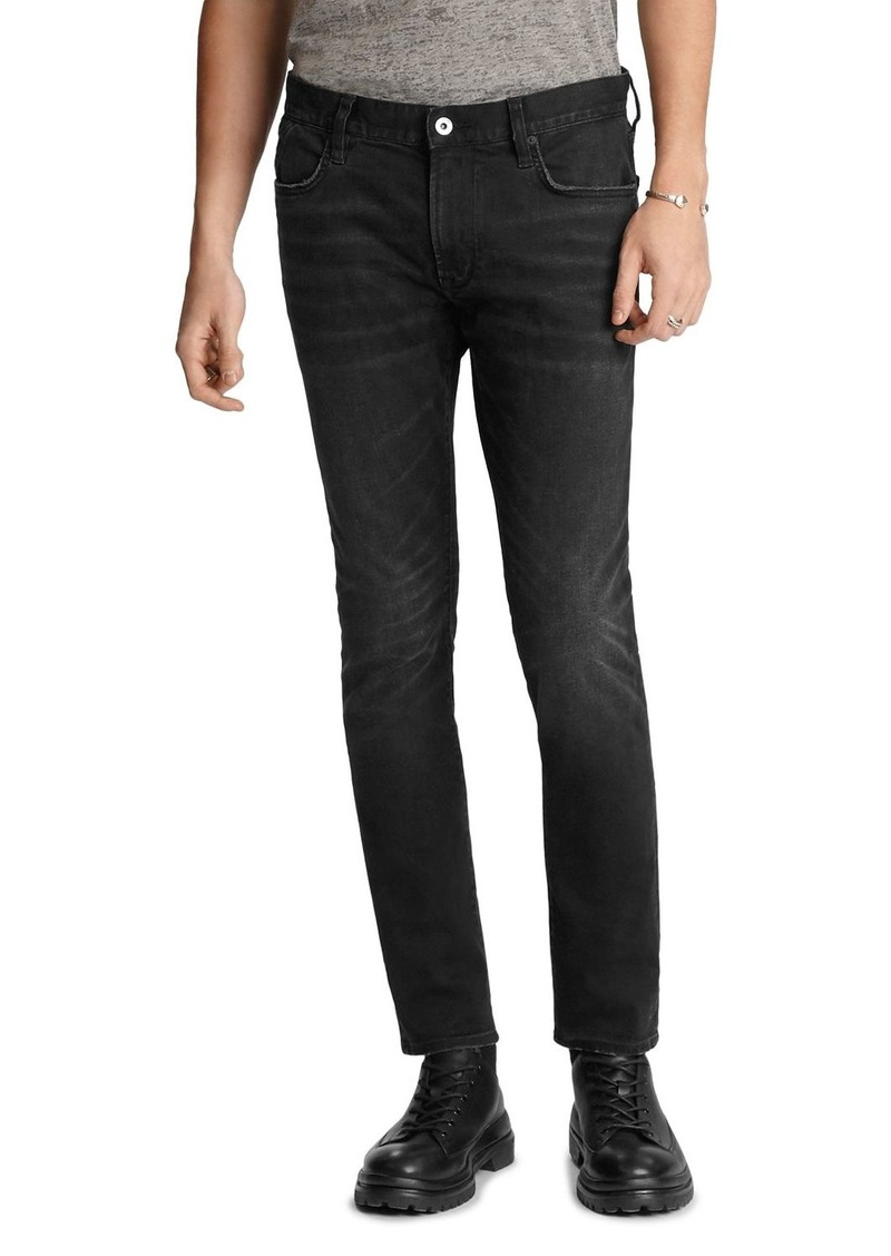 John Varvatos Star USA Matchstick Skinny Fit Jeans in Black