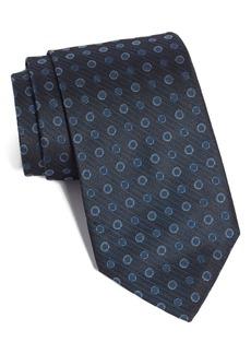 John Varvatos Star USA Medallion Silk Tie
