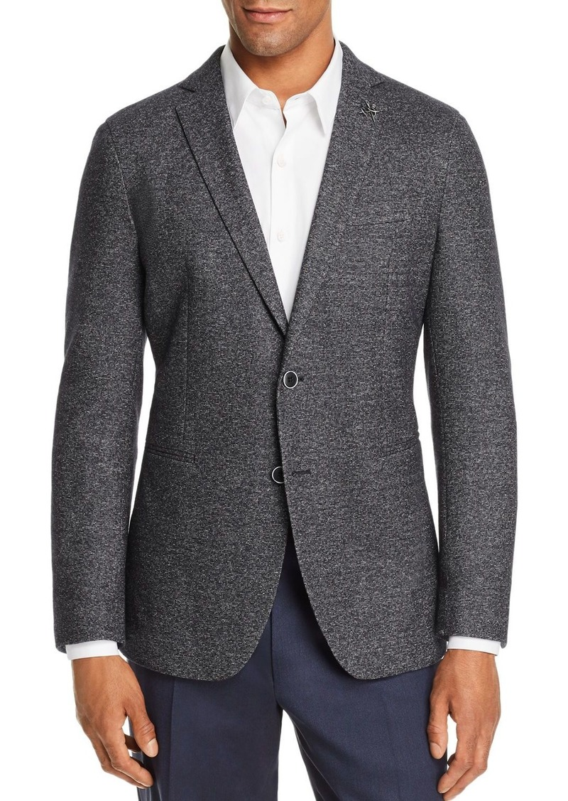John Varvatos Star USA Melange Unconstructed Slim Fit Sport Coat