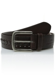 John Varvatos Star USA Men's 38mm Braided Belt