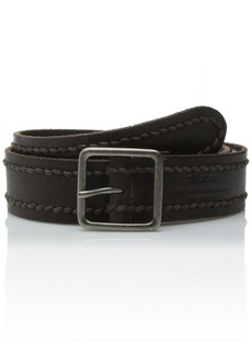 John Varvatos Star USA Men's 38mm Stitched Belt