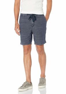 John Varvatos Star USA Men's Benson Linen Blend Drawstring Short