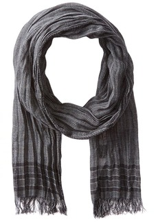 John Varvatos Star U.S.A Men's Boarder Stripe Scarf