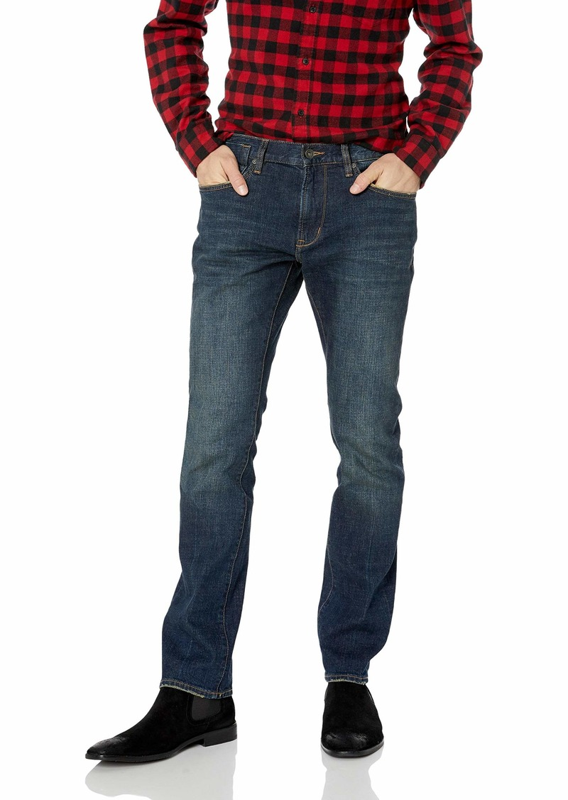 John Varvatos Star USA Men's Bowery FIT Jean with Zip Fly