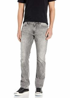 John Varvatos Star USA Men's Bowery Slim FIT Straight Leg Jean Sting ray