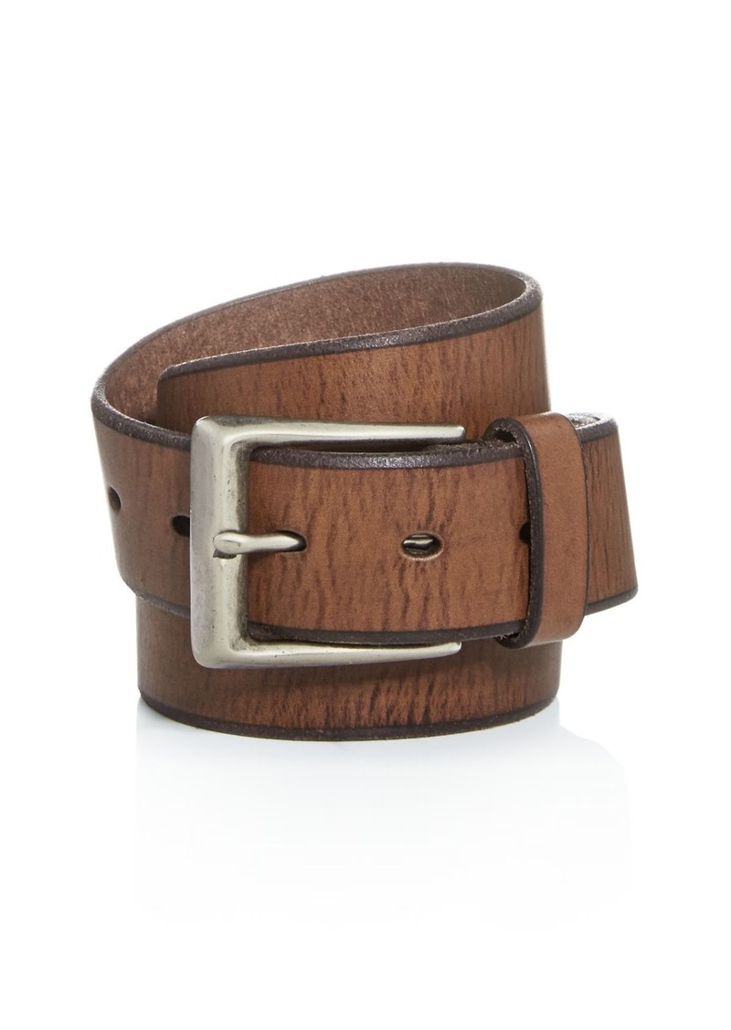 John Varvatos Star USA Men's Bridle Leather Belt