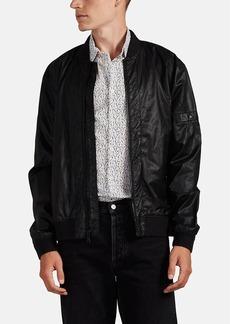 John Varvatos Star U.S.A. Men's Coated Twill Bomber Jacket
