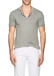 John Varvatos Star U.S.A. Men's Cotton-Blend Henley
