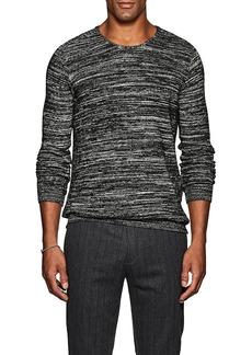 John Varvatos Star U.S.A. Men's Cotton-Blend Marled Sweater
