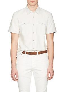 John Varvatos Star U.S.A. Men's Cotton Chambray Shirt