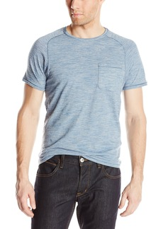 John Varvatos Star USA Men's Crew Neck Finestripe T-Shirt