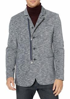 John Varvatos Star USA Men's Daryl Double Knit Soft Jacket Blazer