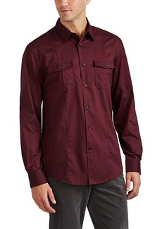 John Varvatos Star U.S.A. Men's Dot-Print Cotton Shirt