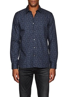 John Varvatos Star U.S.A. Men's Floral Cotton Poplin Shirt