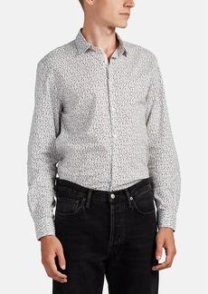 John Varvatos Star U.S.A. Men's Floral Cotton Shirt