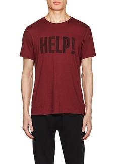"John Varvatos Star U.S.A. Men's ""Help!"" Cotton-Blend T-Shirt"
