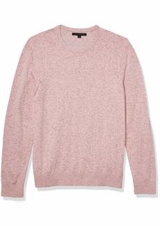 John Varvatos Star USA Men's Huntington Long Sleeve Reverse DYE Cotton Crew Neck Sweater
