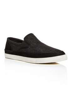 John Varvatos Star USA Men's Jet Denim & Suede Slip-On Sneakers