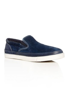 John Varvatos Star USA Men's Jet Suede Slip-On Sneakers
