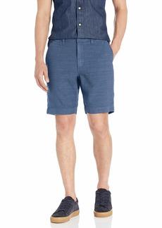 John Varvatos Star USA Men's Johnny Flat Front Shorts