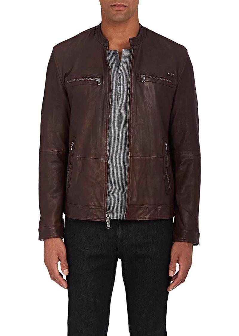 6b47722f21f9e John Varvatos John Varvatos Star U.S.A. Men's Leather Racing Jacket ...