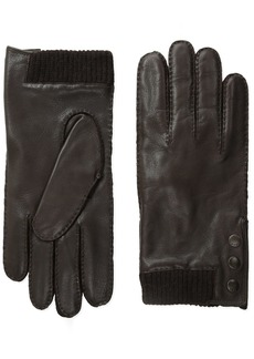 John Varvatos Star U.S.A Men's Logo-Snap Glove