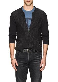 John Varvatos Star U.S.A. Men's Mélange Cotton Cardigan