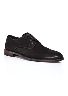 John Varvatos Star USA Men's NYC Suede Plain-Toe Oxfords