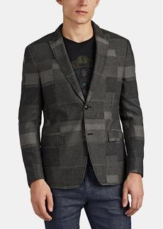 John Varvatos Star U.S.A. Men's Patchwork Cotton-Blend Two-Button Sportcoat