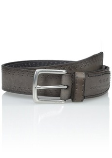John Varvatos Star USA Men's Perf Edge Belt 35mm