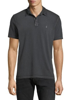 John Varvatos Men's Pigment Rub Peace Polo Shirt