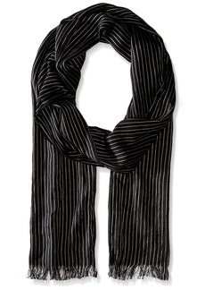 John Varvatos Star U.S.A Men's Pin Stripe Scarf