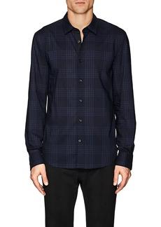John Varvatos Star U.S.A. Men's Plaid Slim-Fit Cotton Poplin Shirt