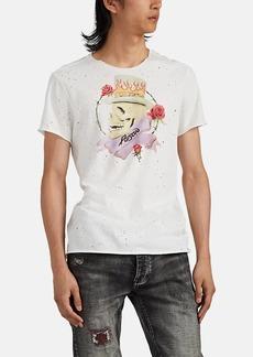 """John Varvatos Star U.S.A. Men's """"Poison"""" Cotton T-Shirt"""