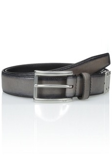John Varvatos Star USA Men's Reverse Calf Belt 32mm