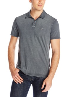John Varvatos Star USA Men's Reverse Print Peace Polo Shirt