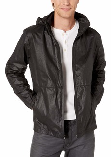 John Varvatos Star USA Men's Robby Water Repellent Windbreaker