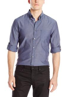 John Varvatos Star USA Men's Roll Up Sleeve Shirt