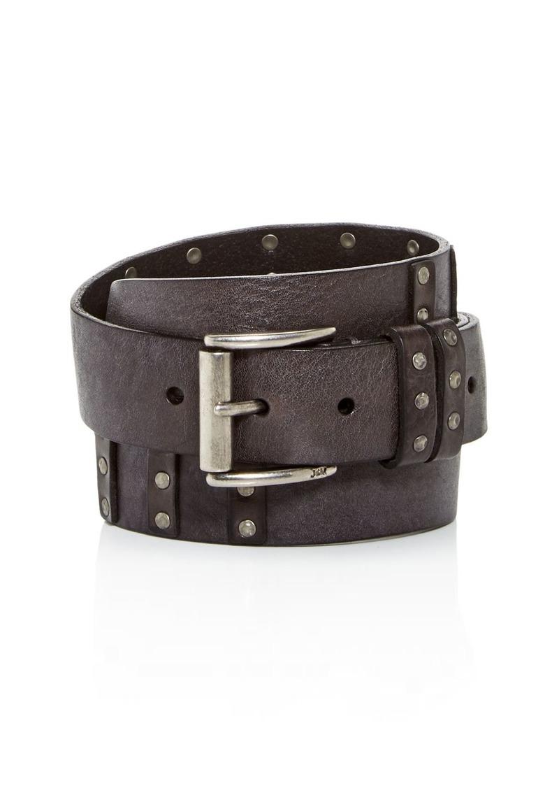 John Varvatos Star USA Men's Sanded Leather Belt