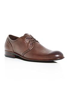 John Varvatos Star USA Men's Seagher Leather Plain-Toe Oxfords