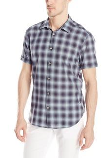 John Varvatos Star USA Men's Short Sleeve Button Down Shirt