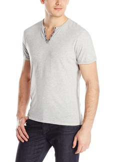 John Varvatos Star USA Men's Short Sleeve Crew Neck with Eyelets