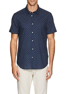 John Varvatos Star U.S.A. Men's Star-Print Cotton Shirt