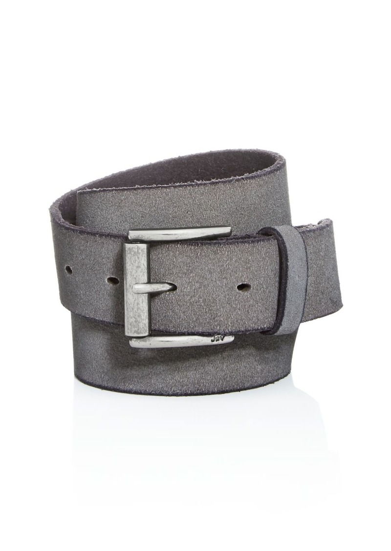 John Varvatos Star USA Men's Suede Belt