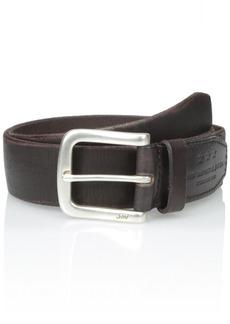 John Varvatos Star USA Men's Textured Leather Belt mm