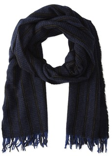 John Varvatos Star U.S.A Men's Ticking Stripe Scarf