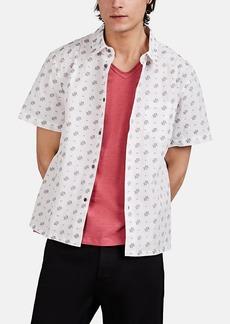 John Varvatos Star U.S.A. Men's Trent Fil Coupé Cotton Shirt